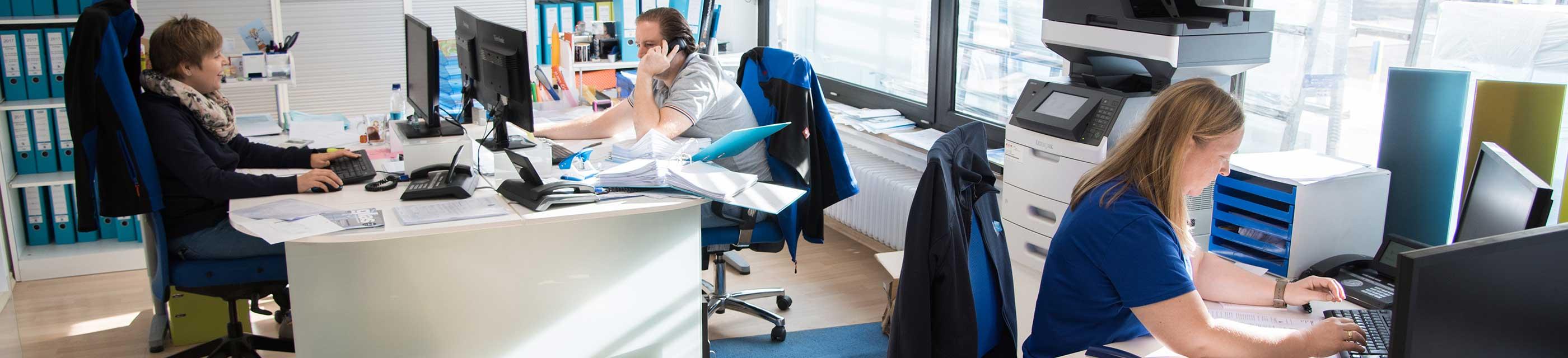 Mitarbeiter Büro Bayernglas