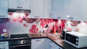 Küchenrückwand aus Glas Bayernglas Glaserei in Wartenberg zwischen München und Landshut