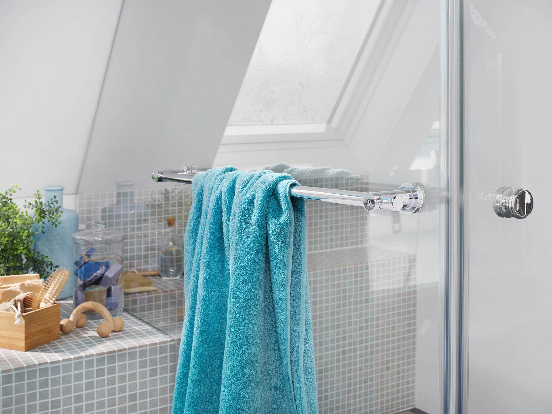 Glasdusche richtig Reinigen Duschbeschläge hochwertige Dusche Glaserei Bayernglas zwischen München und Landshut