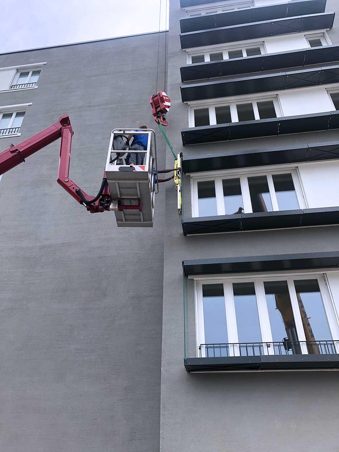 Fassadenbau Glaserei München Umland