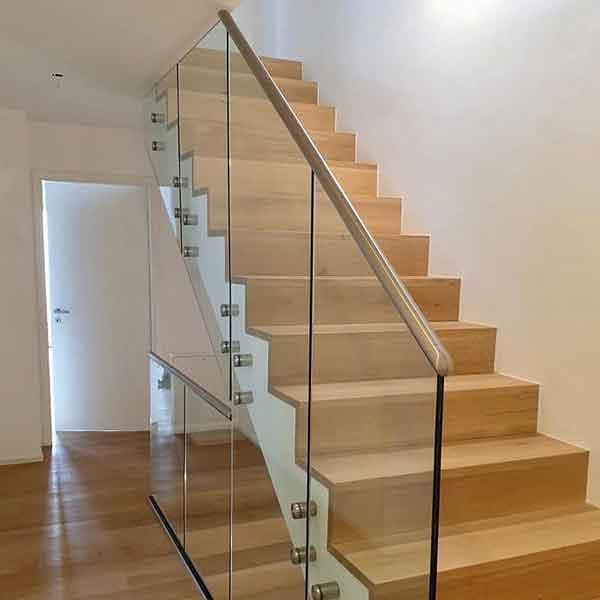 Bayernglas Treppengeländer aus Glas
