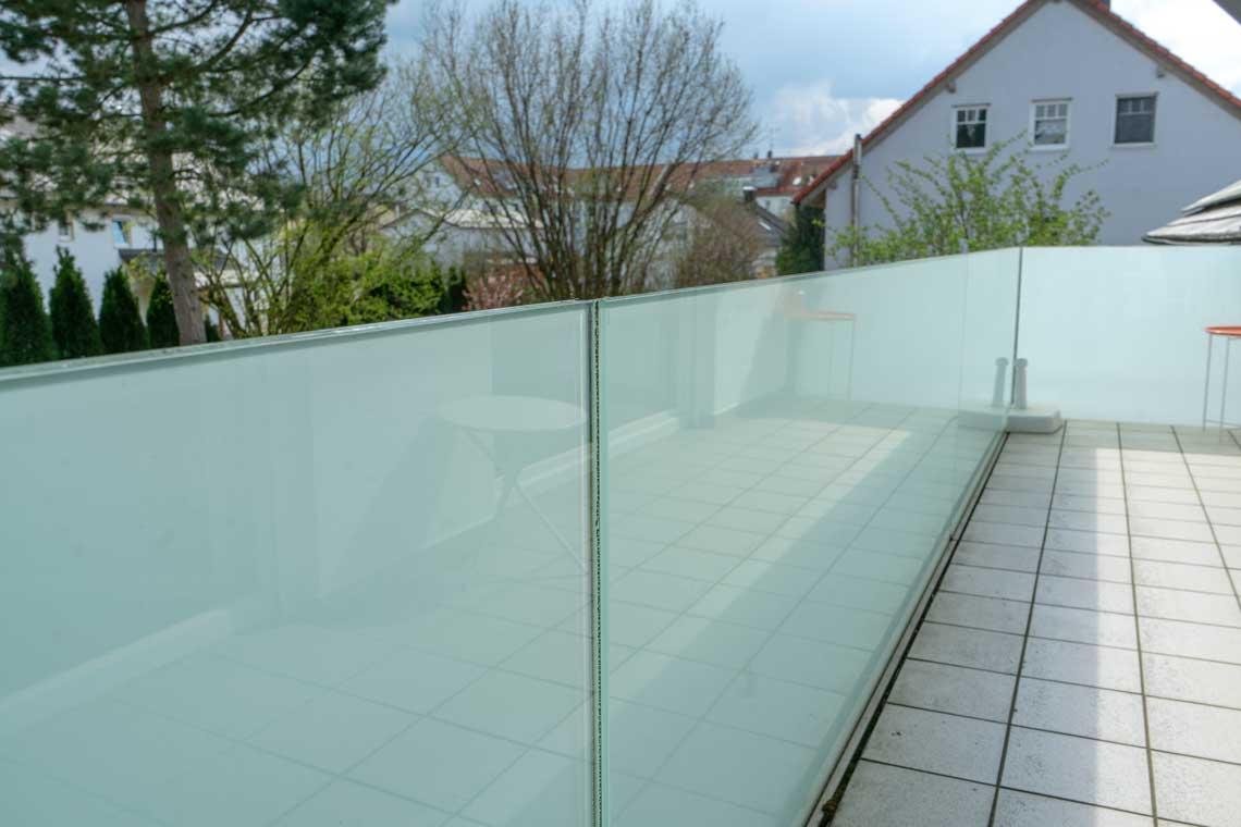 Balkonverglasung Glaserei bayernglas