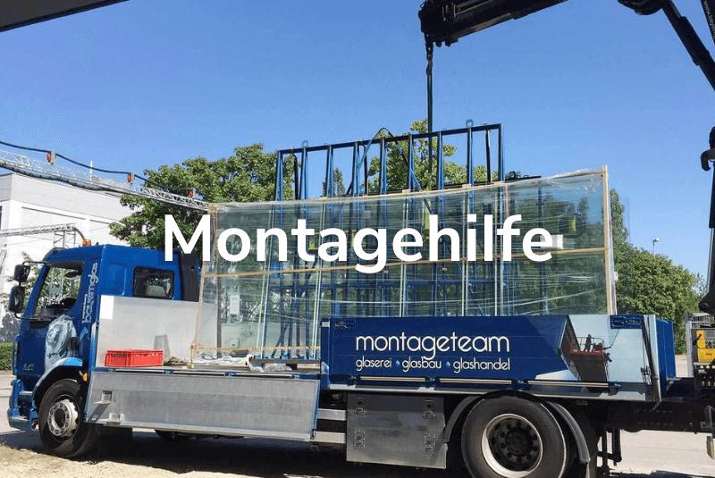 Montagehilfe Glas Montage München