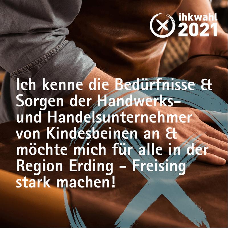 IHK Wahl Hans Hudler Oberbayern